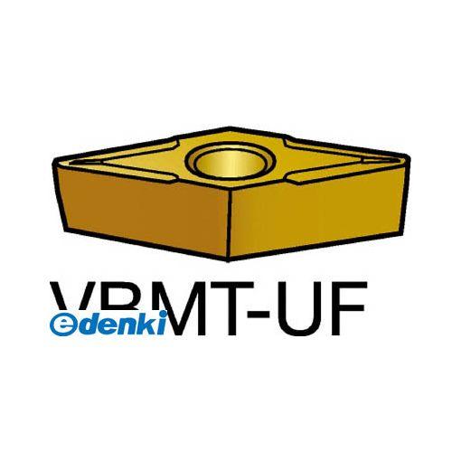 サンドビック(SV) [VBMT110204-UF235] 【10個入】 コロターン107 旋削用ポジ・チップ 235 COATVBMT110204UF8716235