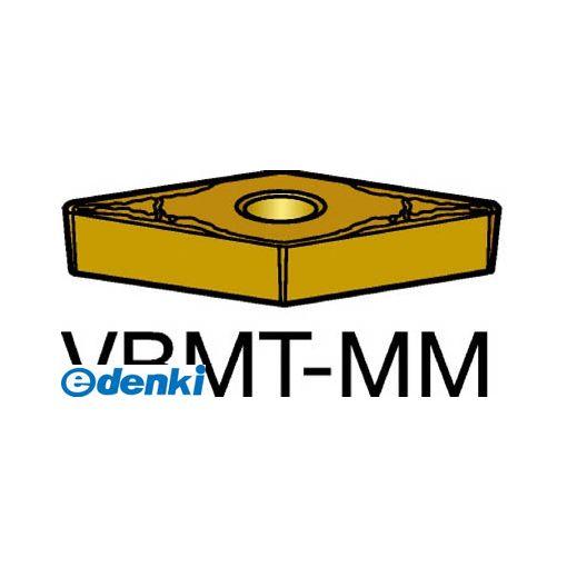 サンドビック SV VBMT160404-MM1125 【10個入】 コロターン107 旋削用ポジ・チップ 1125 COATVBMT160404MM87161125