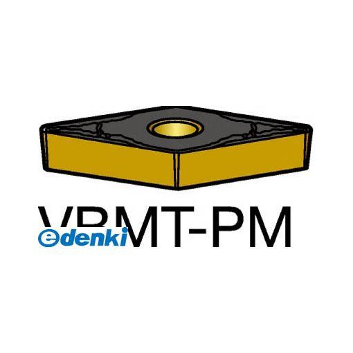 サンドビック SV VBMT160408-PM1515 【10個入】 コロターン107 旋削用ポジ・チップ 1515 COATVBMT160408PM87161515
