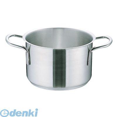 [AHVA306] ムラノ インダクション18-8半寸胴鍋 (蓋無)36 4905001111242【送料無料】