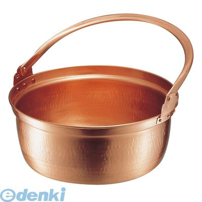 [ASV01033] 銅 山菜鍋(内側錫引きなし) 33cm 4571151423025