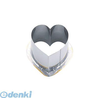 BNKE107 18-8穴クリ芯抜型 外仕上げ用 ハート 50用 4905001283796【送料無料】