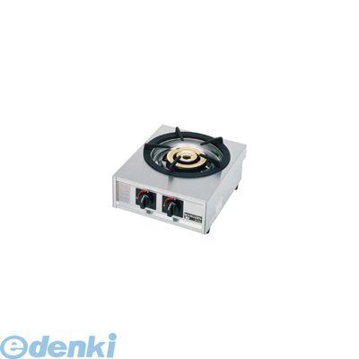 [DKV2001] ガステーブルコンロ親子一口コンロ M-211C     LPガス 4905001254918【送料無料】