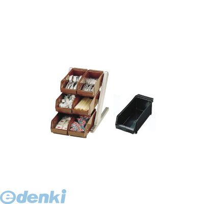 EOC062 SA18-8デラックス オーガナイザー 3段2列 6ヶ入 ブラック 4905001024979【送料無料】