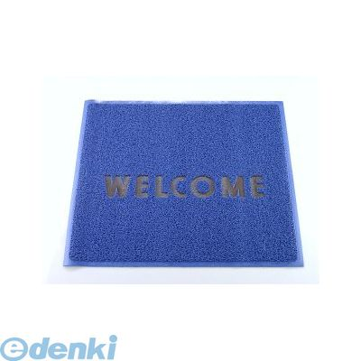 KMT1314A 3M 文字入マット WELCOME 青 4547452291342【送料無料】