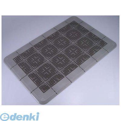 KMT21189D クロスハードマット 900×1800 グレー 4903180303045【送料無料】