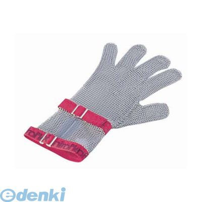 [STB6802] ニロフレックス メッシュ手袋5本指 M C-M5赤 ショートカフ付 4905001324154【送料無料】