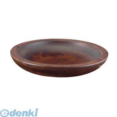 PSC9501 木製 惣菜くり鉢 浅型 大 45010 4988484450107
