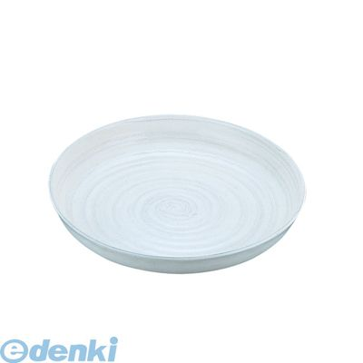 NDL0301 アルミ電磁用ドラ鉢 白刷毛目 尺0 4905001273957【送料無料】