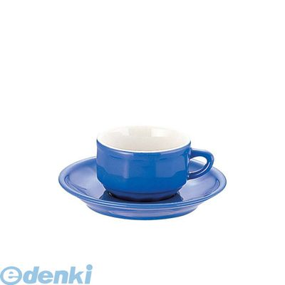 [RAP3604] フローラ モカカップ&ソーサー(6客入) PTFL M FL ブルー 3219590057333【送料無料】