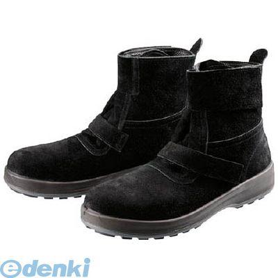 シモン Simon WS28BKT-23.5 安全靴 WS28黒床 23.5cm