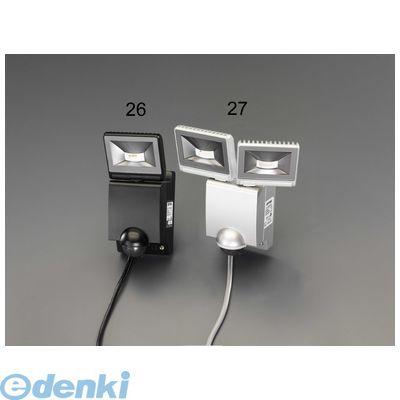 【個人宅配送不可】[EA864C-27]「直送」【代引不可・他メーカー同梱不可】 AC100V/22W LEDセンサーライト(2灯) EA864C27【キャンセル不可】