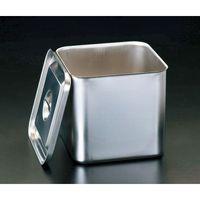 【個人宅配送不可】 エスコ EA508SC-15 直送 代引不可・他メーカー同梱不可 165x165x235mmステンレス製深型BOX EA508SC15【キャンセル不可】