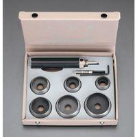 【個人宅配送不可】 EA576FC 直送 代引不可・他メーカー同梱不可 25-50mm革ポンチセット EA-576FC【キャンセル不可】