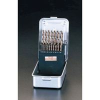 【キャンセル不可】[EA824BC-19] 1.0-10mm19本組CO-HSSドリル EA824BC19