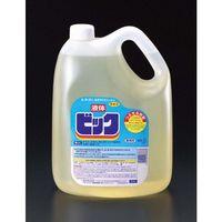 【キャンセル不可】[EA922KB-1C] 4.5Lx4個衣類用洗剤液体ビック EA922KB1C