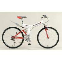 【個人宅配送不可】 EA986Y-31A 直送 代引不可・他メーカー同梱不可 26インチ折畳み式自転車 EA986Y31A【キャンセル不可】