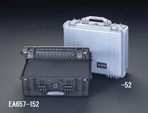 【楽天最安値に挑戦】 直送 459x327x171mm/内寸万能防水ケース EA657-52 EA65752【キャンセル】:測定器・工具のイーデンキ シルバー ・他メーカー同梱 【個人宅配送】-DIY・工具