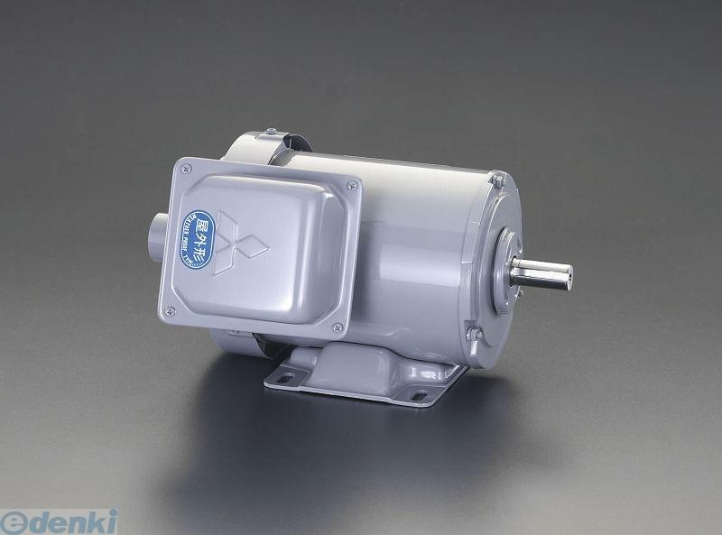 【個人宅配送不可】 エスコ EA968BB-2 直送 代引不可・他メーカー同梱不可 AC200V・0.2 kw 三相モーター【全閉外扇・屋外形】 EA968BB2【キャンセル不可】