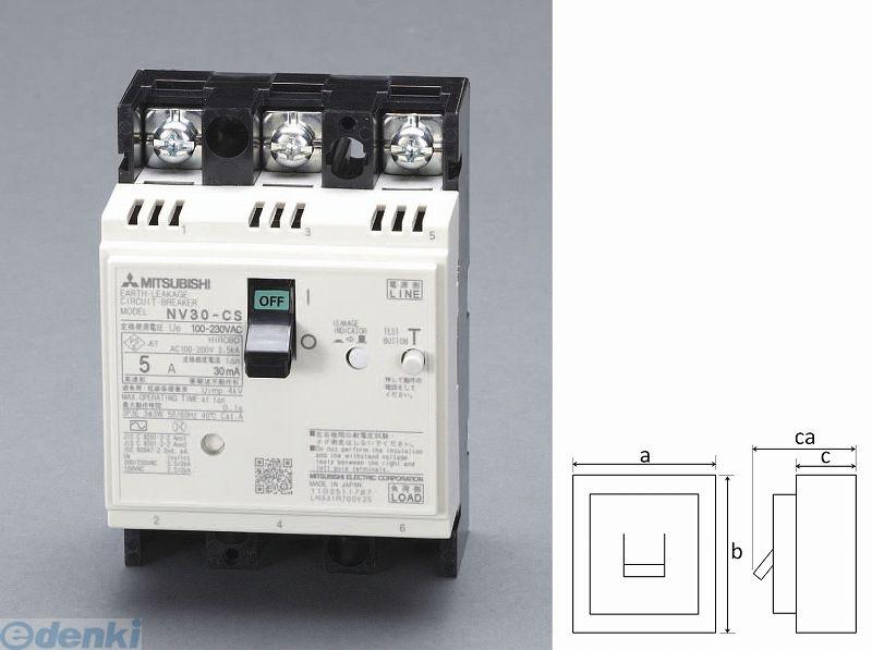 【個人宅配送不可】 エスコ EA940MN-1 直送 代引不可・他メーカー同梱不可 AC100-230V/5A/3極 漏電遮断器【フレーム30】 EA940MN1【キャンセル不可】