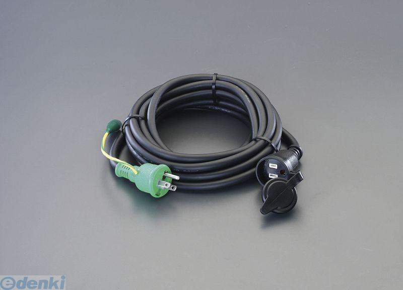 【個人宅配送不可】 EA815GB-39 直送 代引不可・他メーカー同梱不可 AC125V/15Ax30m 延長コード【アース付/防雨型】 EA815GB39【キャンセル不可】