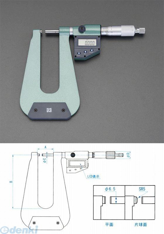 【個人宅配送不可】 EA725EH-39 直送 代引不可・他メーカー同梱不可 0-25mm/310m マイクロメーター【デジタル/深型】 EA725EH39【キャンセル不可】