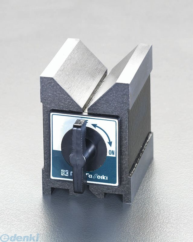 【個人宅配送不可】 EA719DL-2 直送 代引不可・他メーカー同梱不可 95x70x100mm マグネットVブロック EA719DL2【キャンセル不可】