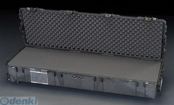 【個人宅配送不可】 EA657-177 直送 代引不可・他メーカー同梱不可 1386x396x219mm/内寸 万能防水ケース【黒】 EA657177【キャンセル不可】