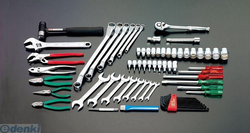 【個人宅配送不可】 EA612SC-28 直送 代引不可・他メーカー同梱不可 66個組 工具セット EA612SC28【キャンセル不可】