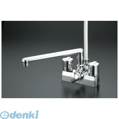 KVK [KF205G] デッキ止水2ハンドルシャワー
