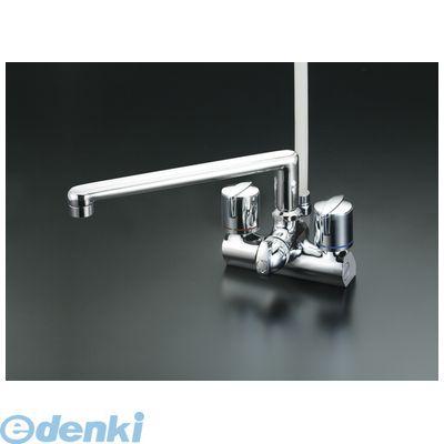 KVK [KF206G] デッキ止水2ハンドルシャワー