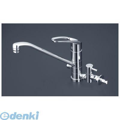 KVK [KM5041TTU] 流し台混合栓 止水栓付