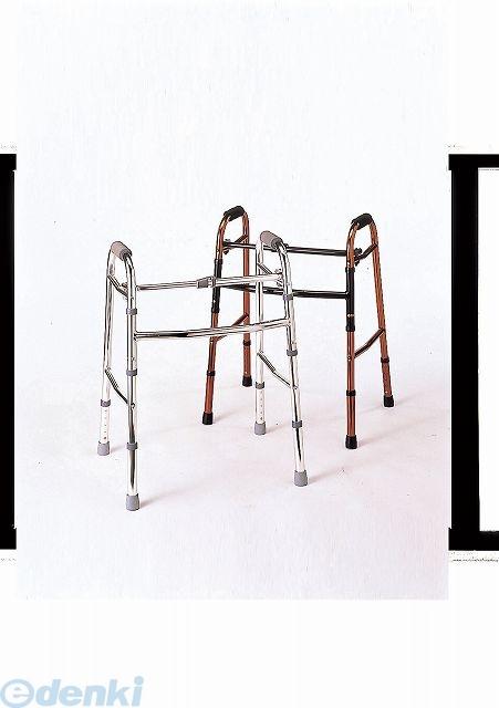 [4538833206062] 折りたたみ歩行器 シルバー 非 4538833206062【送料無料】
