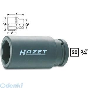 【納期-通常7日以内に発送 在庫切れ時-約2ヶ月 】ハゼット HAZET 1000SLG-27 インパクト用ディープソケット3/4 1000SLG27