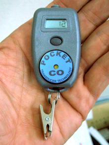 MK [Pocket CO] 一酸化炭素ガス検知器(世界最小軽量) PocketCO