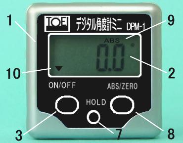 DPM-1 デジタル角度計ミニ DPM1