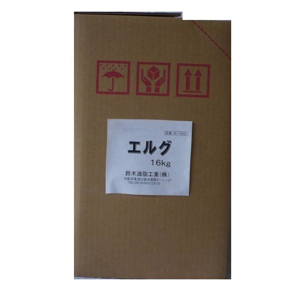 【納期:約1週間】 [S-492] 「直送」【代引不可・他メーカー同梱不可】エルグ16kg (2缶入り)  S492