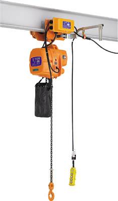 【個数:1個】KITO EFLM010S-S 直送 代引不可・他メーカー同梱不可 ファルコン 電気チェーンブロック 電気トロリ結合式 1t S x3m EFLM010SS