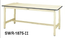 山金工業 [SWR-1275-II] 「直送」【代引不可・他メーカー同梱不可】ワークテーブル 作業台 300シリーズ (固定式:H740) W1200*D750*H740 SWR1275II