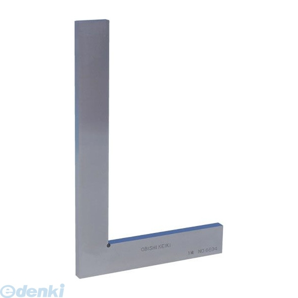 大菱計器製作所 大菱計器 FA102 平形直角定規 JIS 1級 焼入品 呼び100 100×70×20×4 FA102