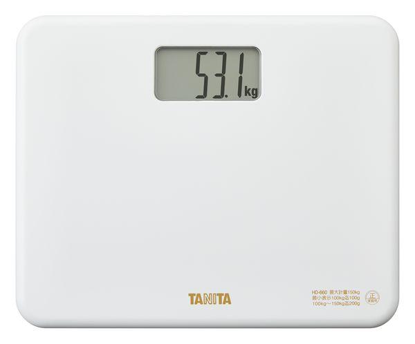 タニタ TANITA HD660WH ホワイト 特価品コーナー☆ 即日出荷 デジタルヘルスメーター