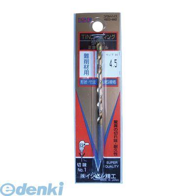 イシハシ精工 IS TCOD-7.5 TINコバルト正宗ドリル 7.5mm 10入 TCOD7.5