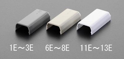 EA947HM-12E 大人気! 23x50mm プラスチック製 モールエンド 白 10個 エスコ EA947HM12E NEW キャンセル不可