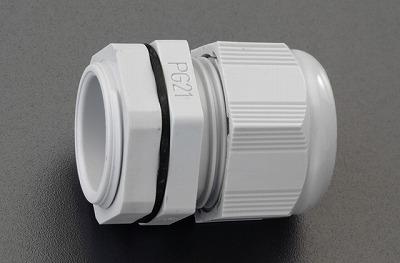 【個人宅配送不可】 EA948HB-48 直送 代引不可・他メーカー同梱不可 18-31.5mm ケーブルグランド 10個 EA948HB48【キャンセル不可】