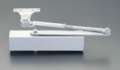 【個人宅配送不可】[EA951LD-23A]「直送」【代引不可・他メーカー同梱不可】 65kg以下ドアクローザー (パラレル段付型) シルバー EA951LD23A【キャンセル不可】