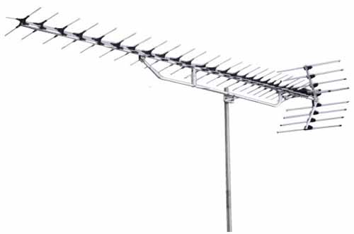 DXアンテナ [YAL114-ULS] UHFオールチャンネル用アンテナ(27素子/ステンレス) YAL114ULS
