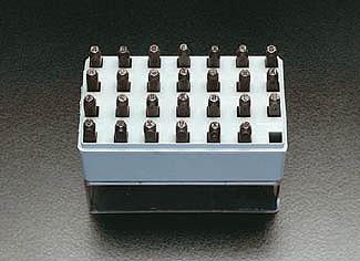 【個人宅配送不可】 EA591HS-0.8 直送 代引不可・他メーカー同梱不可 0.8mm 英字 刻印セット EA591HS0.8【キャンセル不可】