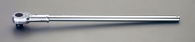 【個人宅配送不可】[EA618MA-10]「直送」【代引不可・他メーカー同梱不可】 1 sqx755mm ラチェットハンドル EA618MA10【キャンセル不可】