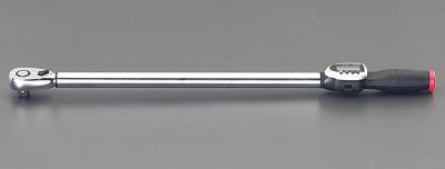 【個人宅配送不可】 エスコ EA723J-42A 直送 代引不可・他メーカー同梱不可 27-135Nm1/2 sq デジタル トルクレンチ EA723J42A【キャンセル不可】