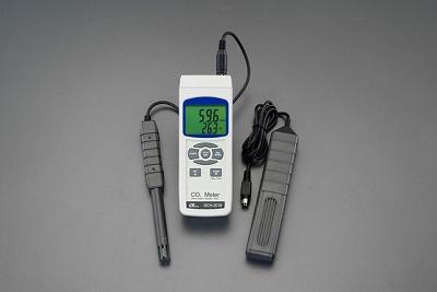 2018新入荷 EA733AJ-6 直送 【個人宅配送】 EA733AJ6【キャンセル】:測定器・工具のイーデンキ ・他メーカー同梱 複合CO2メーター-DIY・工具